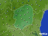栃木県のアメダス実況(気温)(2020年01月29日)