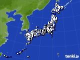アメダス実況(風向・風速)(2020年01月29日)
