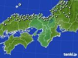 近畿地方のアメダス実況(降水量)(2020年01月30日)