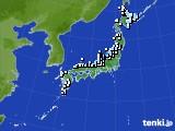 アメダス実況(降水量)(2020年01月30日)