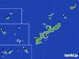 沖縄県のアメダス実況(風向・風速)(2020年01月30日)