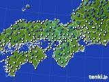 2020年01月31日の近畿地方のアメダス(気温)