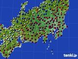 関東・甲信地方のアメダス実況(日照時間)(2020年02月01日)