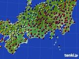 東海地方のアメダス実況(日照時間)(2020年02月01日)