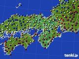 近畿地方のアメダス実況(日照時間)(2020年02月01日)