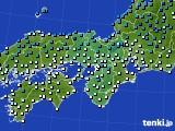 2020年02月05日の近畿地方のアメダス(気温)