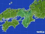 近畿地方のアメダス実況(積雪深)(2020年02月06日)