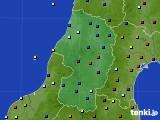 2020年02月06日の山形県のアメダス(日照時間)