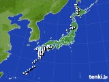 アメダス実況(降水量)(2020年02月07日)
