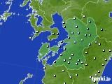 2020年02月07日の熊本県のアメダス(降水量)