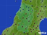 2020年02月07日の山形県のアメダス(日照時間)