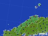 島根県のアメダス実況(日照時間)(2020年02月09日)