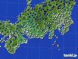 東海地方のアメダス実況(気温)(2020年02月09日)