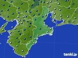 三重県のアメダス実況(気温)(2020年02月09日)