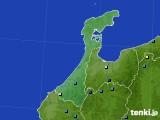 石川県のアメダス実況(積雪深)(2020年02月10日)