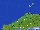 島根県のアメダス実況(日照時間)(2020年02月10日)