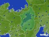 滋賀県のアメダス実況(気温)(2020年02月10日)