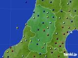 2020年02月11日の山形県のアメダス(日照時間)