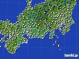 東海地方のアメダス実況(気温)(2020年02月11日)