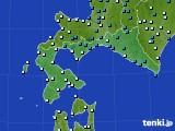 道南のアメダス実況(気温)(2020年02月12日)
