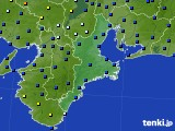 三重県のアメダス実況(日照時間)(2020年02月15日)