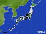 アメダス実況(降水量)(2020年02月16日)