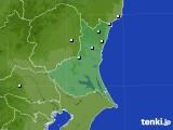 茨城県のアメダス実況(降水量)(2020年02月17日)