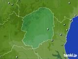 栃木県のアメダス実況(降水量)(2020年02月17日)