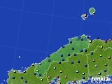 島根県のアメダス実況(日照時間)(2020年02月17日)