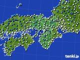 近畿地方のアメダス実況(気温)(2020年02月17日)