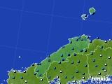 島根県のアメダス実況(気温)(2020年02月17日)