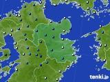 大分県のアメダス実況(気温)(2020年02月17日)