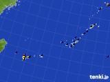 沖縄地方のアメダス実況(日照時間)(2020年02月18日)