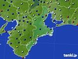 2020年02月18日の三重県のアメダス(日照時間)