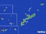 沖縄県のアメダス実況(日照時間)(2020年02月19日)