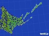 道東のアメダス実況(気温)(2020年02月19日)
