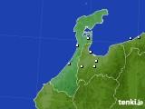石川県のアメダス実況(降水量)(2020年02月20日)