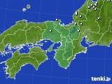 近畿地方のアメダス実況(降水量)(2020年02月23日)