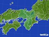 近畿地方のアメダス実況(降水量)(2020年02月26日)