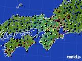 近畿地方のアメダス実況(日照時間)(2020年02月26日)