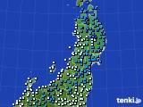 2020年02月26日の東北地方のアメダス(気温)