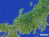 アメダス実況(気温)(2020年02月26日)