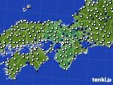 近畿地方のアメダス実況(風向・風速)(2020年02月26日)