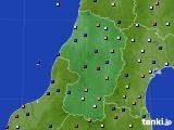 山形県のアメダス実況(日照時間)(2020年02月27日)