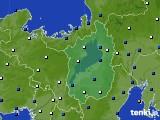 滋賀県のアメダス実況(風向・風速)(2020年02月27日)