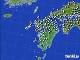 九州地方のアメダス実況(降水量)(2020年02月29日)