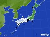 アメダス実況(降水量)(2020年02月29日)