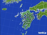 九州地方のアメダス実況(降水量)(2020年03月01日)