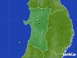 2020年03月01日の秋田県のアメダス(降水量)