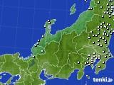 北陸地方のアメダス実況(降水量)(2020年03月02日)